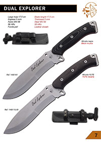 hunting knives  DUAL EXPLORER YUTE BISON
