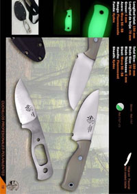 hunting knives  HOBBIT SKINNER LUMINIUM