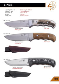 hunting knives  LINCE JV