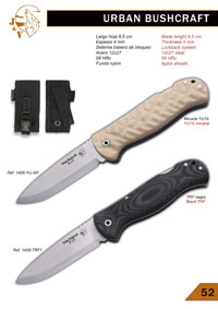 coltelli navajas tattici TEMPERINO URBAN BUSHCRAFT