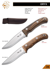 tactical knives survival ORYX JV