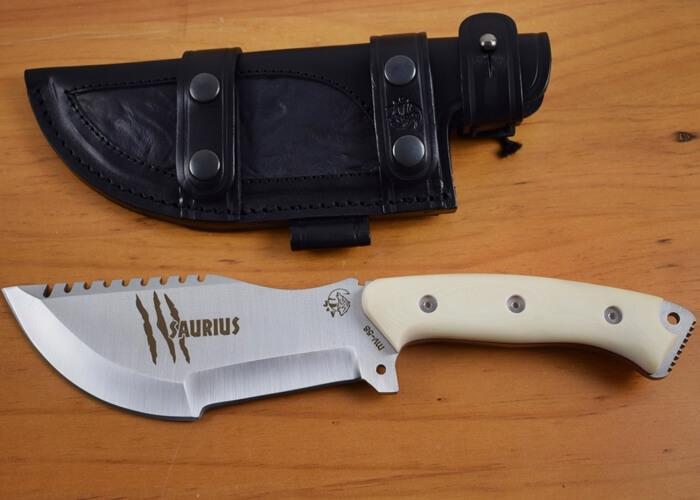 Saurius Knife Ivory Micarta Jv Cda Tactical Knives
