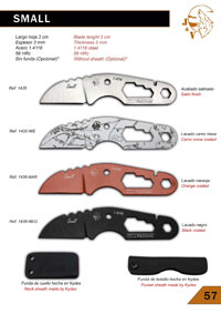 tactical knives  SMALL JV CDA