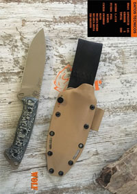 tactical knives survival WOLF GRANITO