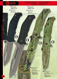 tactical knives  TACTICAL KNIVES CHINOOK I AND II