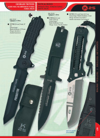 tactical knives  KRAKEN AND REASONER