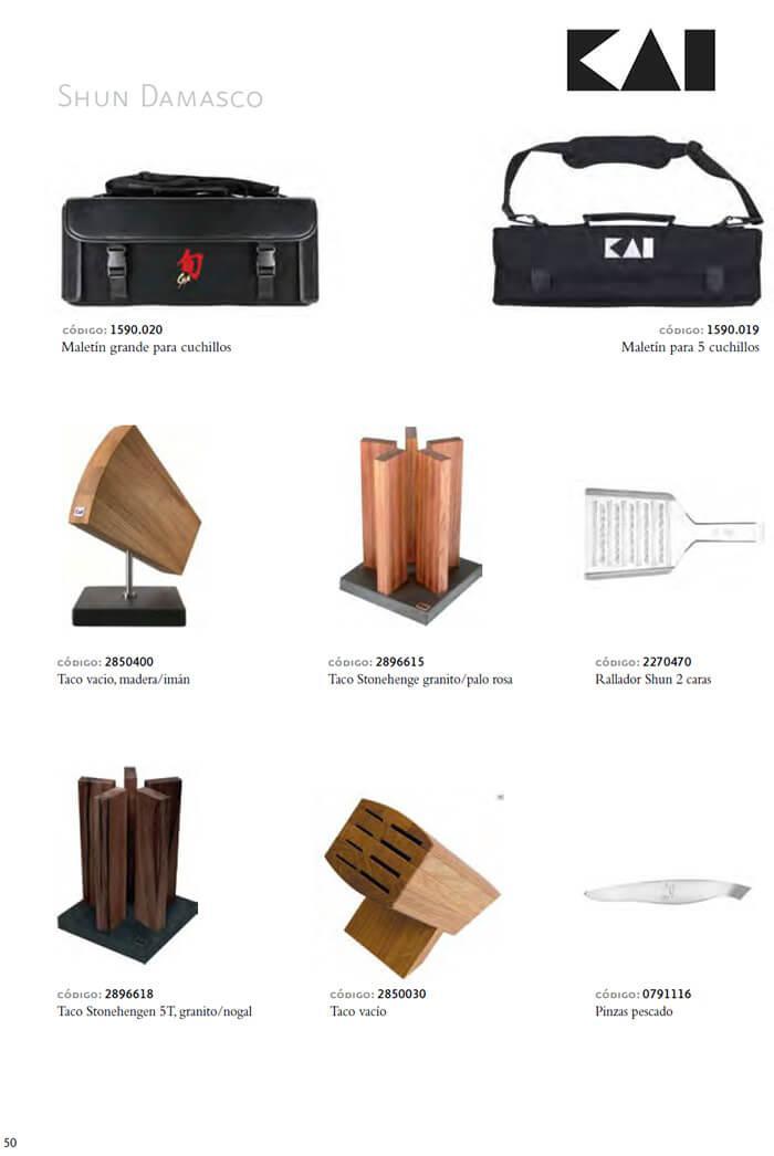 2896618 tacos y maletines cuchillos kai cuchilleria for Cuchilleria profesional cocina