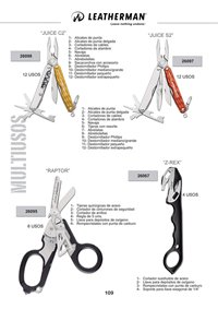 LEATHERMAN MULTIUSOS JUICE C2 RAPTOR JUICE S2