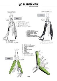 LEATHERMAN SKELETOOL LEAP SKELETOOL CX