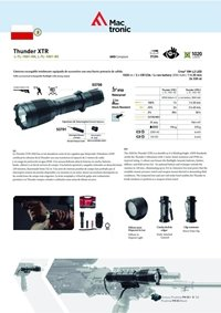 camping and survival  THUNDER XTR TACTICAL FLASHLIGHT