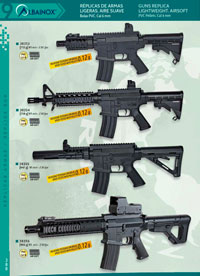 airsoft  LIGHTWEIGHT GUNS