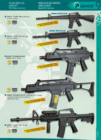 airsoft rifles REPLICA GUNS