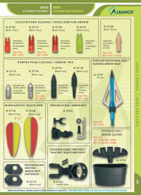 ACCESSORIES AND SPARE PARTS BOWS