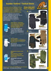 camping and survival  TACTICAL GLOVES MASTODON