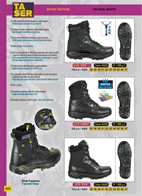 camping and survival  BOOTS TASER