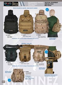 camping and survival soulder bags TACTICAL EQUIPMENT