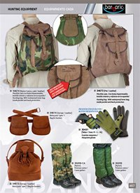 hunting and observation  HUNTING EQUIPMENT