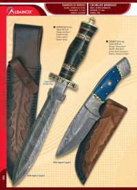 hunting knives  DAMASK KNIVES