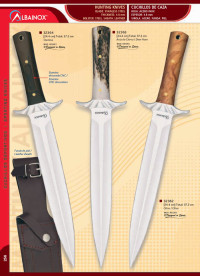 hunting knives  HUNTING KNIVES WITH STEEL BOLSTERS