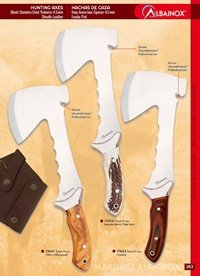 couteaux chasseurs axes ALBAINOX AXES DE CHASSE