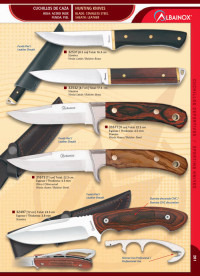 MARTINEZ ALBAINOX HUNTING KNIVES 8