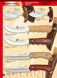 MARTINEZ ALBAINOX HUNTING KNIVES 9
