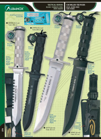 MARTINEZ ALBAINOX SURVIVAL KNIVES