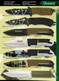MARTINEZ ALBAINOX TACTICAL KNIVES ARMY AND SOLDIER
