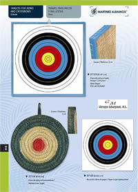 MARTINEZ ALBAINOX TARGETS FOR BOWS AND CROSSBOWS