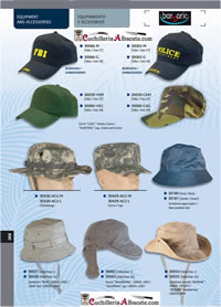 camping and survival hats GORRAS