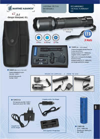 MARTINEZ ALBAINOX TACTICAL FLASHLIGHT