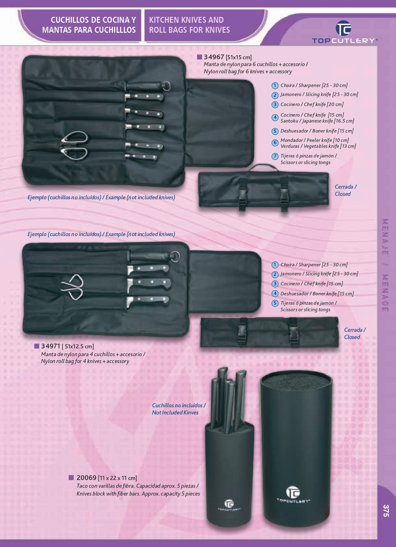 coutellerie professionnelle cuisiner menaje ma04 martinez albainox couteaux gros. Black Bedroom Furniture Sets. Home Design Ideas