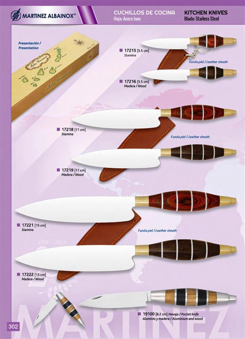 19100 cuchillos cocina canarias martinez albainox for Cuchillos cocina
