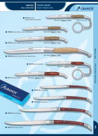 MARTINEZ ALBAINOX POCKET KNIVES WITH GIFT BOX STEEL 440