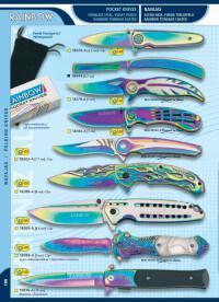 MARTINEZ ALBAINOX POCKET KNIVES RAINBOW