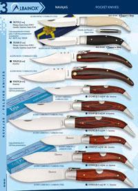 MARTINEZ ALBAINOX POCKET KNIVES PUBLICITY