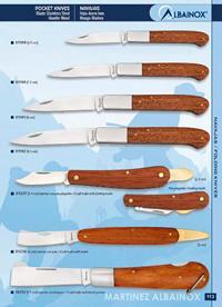 MARTINEZ ALBAINOX FOLDING KNIVES TRANCHETES