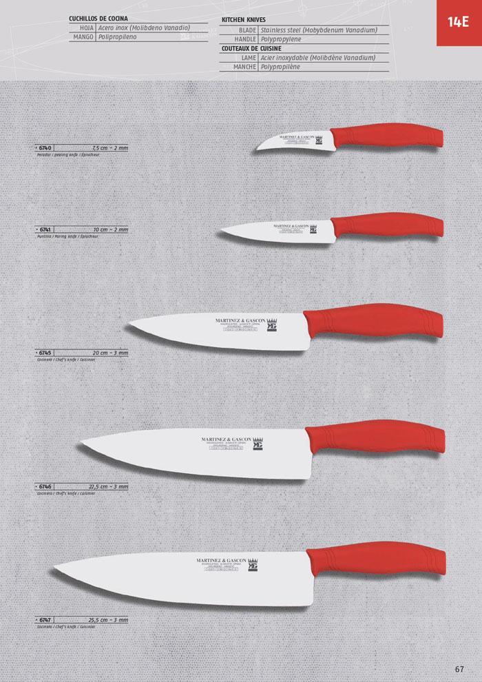 7747 cuchillos cocina martinez gascon menaje cocina - Cuchillos y menaje ...