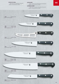 MARTINEZ & GASCON KITCHEN KNIVES