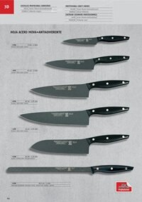 professional knives cook TEFLON COOK KNIVES