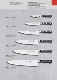 MARTINEZ & GASCON COOK KNIVES FORGED