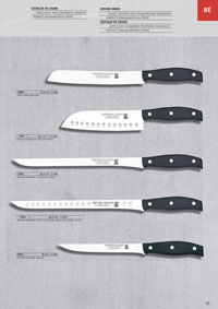 MARTINEZ & GASCON ONE PIECE KITCHEN KNIVES