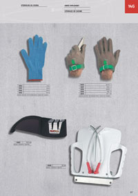 professional knives butcher GUANTES