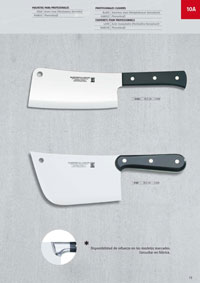professional knives butcher CLEAVERS