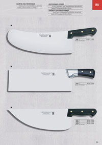 professional knives cook CLEAVERS