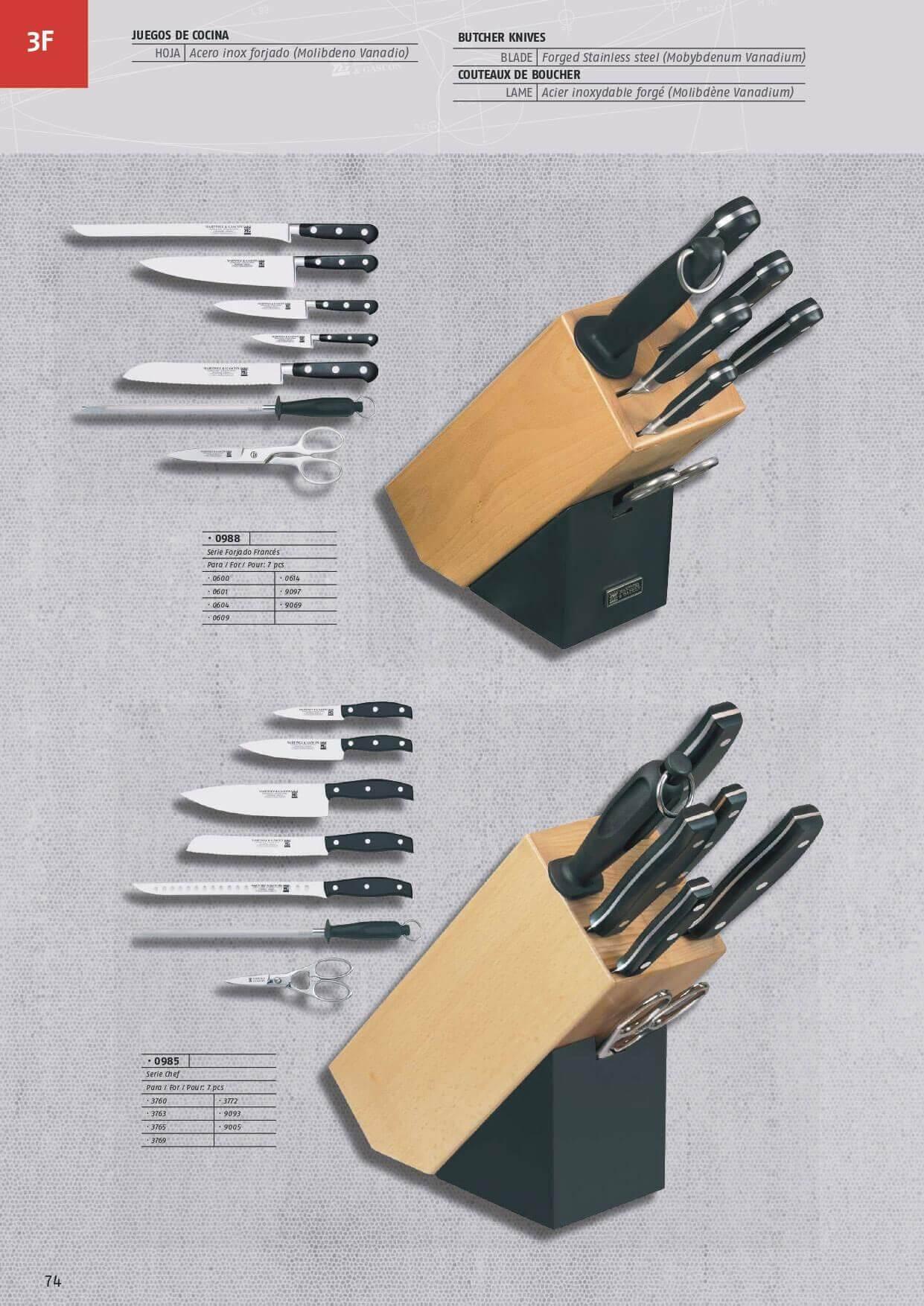 Ustensiles de cuisine jeux de cuisine set cuchillos - Set couteaux cuisine ...