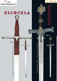 swords SWORD SCOTTISH SALOMON