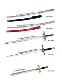 MARTO CONAN SWORDS
