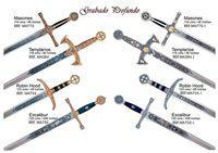 MARTO DEEP ENGRAVED SWORDS