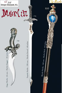 swords SWORDS MERLIN